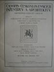 Časopis československých inženýrův a architektův 1921 (Architektonický obzor)  - svázáno - náhled