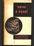 Kniha o hudbě - kol. autorů - náhled