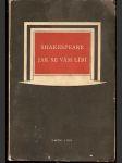 Jak se Vám líbí - W. Shakespeare - náhled