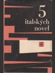 5 italských novel - náhľad