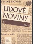 Lidové noviny 1989 - náhled