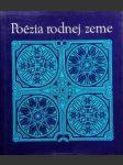 Poézia rodnej zeme - náhled