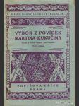 Výbor z povídek Martina Kukučina - náhled