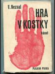 Hra v kostky - básně 1927 a 1928 - obálka jindřich štyrský - náhled