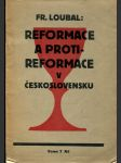 Reformace a protireformace v Československu - náhled