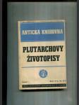 Plutarchovy životopisy (Perikles / Fabius veliký / Dion / Brutus) - náhľad