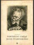 Portrétní umění Maxe Švabinského - náhled