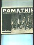 Památník II. manifestačního sjezdu legionářského v Praze ve dnech 29. června až 2. července 1928 - náhled