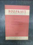 Rozpravy Československé Akademie věd, ročník 64., řada SV., sešit 2.: Karel Svoboda (Bolzanova estetika) - náhled