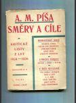 Směry a cíle (Kritické listy z let 1924 - 1926) - náhled