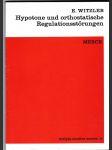 Hypotone und orthostatische Regulationsstörungen - náhled