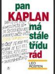Pan Kaplan má stále tŕídu rád - náhled