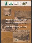 Z historie lesního dopravnictví - náhled