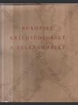 Rukopisy Královédvorský a Zelenohorský (Dokumentární fotografie - Přepisem a poznámkami provází V. Flajšhans) - náhled