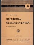 Republika Československá - zeměpisný obraz - náhled