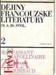 Dějiny francouzské literatury 19. a 20. stol. díl 2, 1870-1930 - náhled