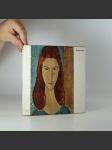 Modigliani (reprodukce záměrně jen lehce vlepeny) - náhled