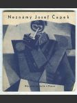 Neznámý Josef Čapek - výběr dokladů k metodě jeho malířské práce - náhled