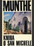 Kniha o San Michele - náhled