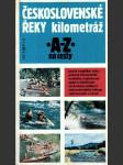 Československé řeky - kilometráž - náhled