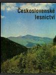 Československé lesnictví - náhled