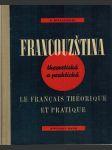 Francouzština theoretická a praktická - náhled