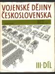 Vojenské dějiny Československa III. - náhled