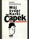 Můj švagr Karel Čapek - náhled