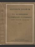 Symfonie VI, D dur, op. 60 - Symphonie VI, D dur, op. 60 - Symphony VI, D dur, op. 60 - Symphonie VI, D dur, op. 60 - náhled