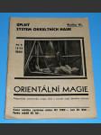 Úplný systém okultních nauk VI. - Orientální magie - náhled