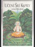 Učení Šrí Kapily syna Dévahúti - transcendentální učení Prahláda Mahárádže - náhled