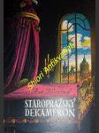 Staropražský dekameron - novotný antonín - náhled