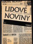 Lidové noviny 1988, 1989 (2 sv.) - náhled