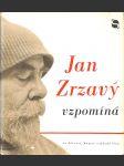 Jan Zrzavý vzpomíná - náhled