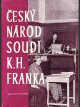 Český národ soudí K.H. Franka - náhled