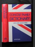 Concise family dictionary : with over 30000 entries - náhled