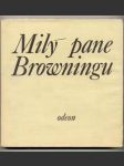 Milý pane browningu 1974 - náhled
