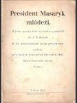 President Masaryk mládeži - náhled