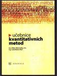 Učebnice kvantitativních metod - náhled