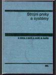 Strojní prvky a systémy - náhled