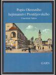 Popis kresního hejtmanství Prostějovského - náhľad