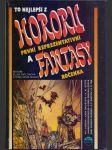 To nejlepší hororu a fantasy, první  reprezentativní ročenka - náhled