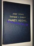 Národopisné a životopisné paměti Vizovic - náhľad