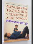 Alexandrova technika v těhotenství a při porodu - náhled