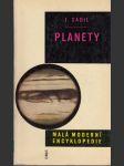 Planety - náhled