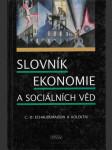Slovník ekonomie a sociálních věd - náhled