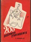 200 duševních čtvrthodinek - náhled