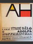 Výtvarné dílo Adolfa Hoffmeistera - náhled