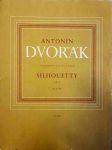 Antonín Dvořák souborné vydání díla - Silhouetty Op. 8 - náhled