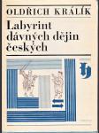 Labyrint dávných dějin českých - náhled